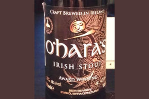 Отзыв о пиве O'Hara's Irish Stout