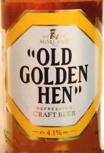 Отзыв о пиве Old Golden Hen craft beer