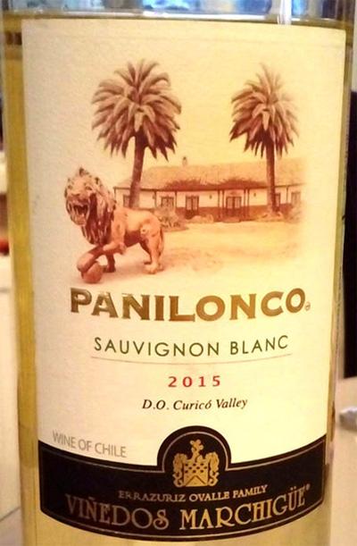 Отзыв о вине Panilonco sauvignon blanc 2015