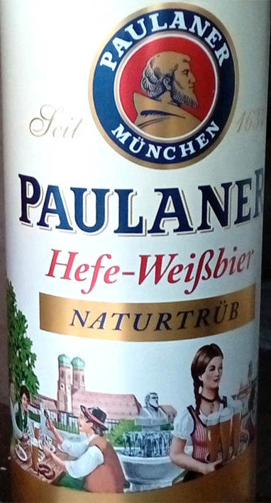 Отзыв о пиве Paulaner Hefe-Weisbier naturtrub
