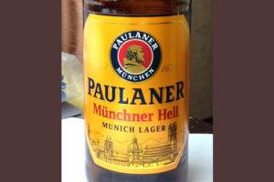 Отзыв о пиве Paulaner Munchner Hell