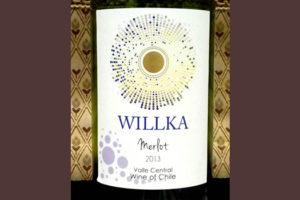 Отзыв о вине Willka merlot 2013