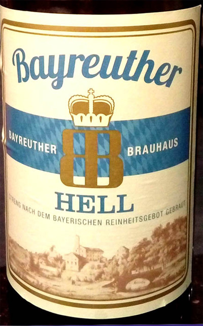 Отзыв о пиве Bayereuther Hell