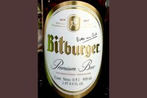 Отзыв о пиве Bitburger premium beer