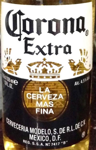 Отзыв о пиве Corona Extra