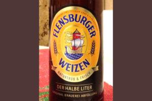 Отзыв о пиве Flensburger weizen