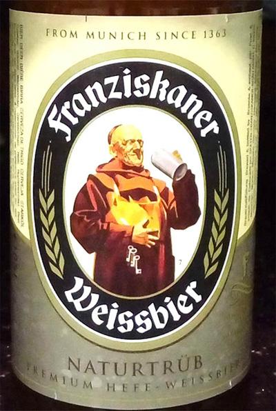 Отзыв о пиве Franziskaner weissbier