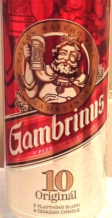 Отзыв о пиве Gambrinus 10