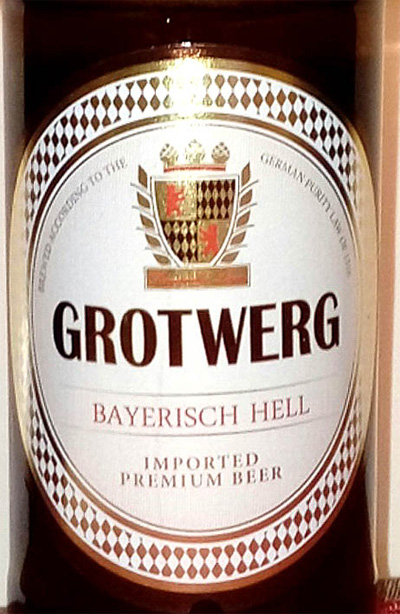 Отзыв о пиве Grotwerg bayerisch hell