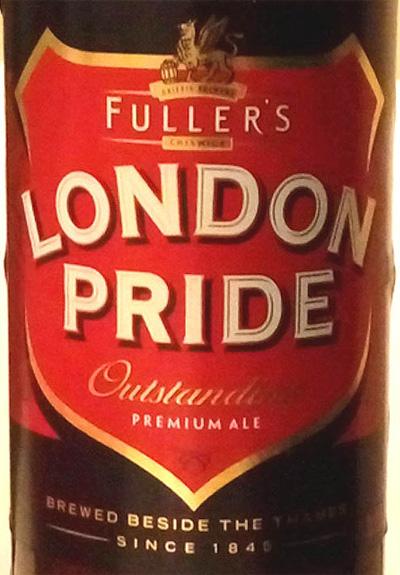 Отзыв о пиве London Pride premium ale