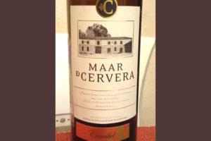 Отзыв о вине Maar de Cervera cencibel 2010