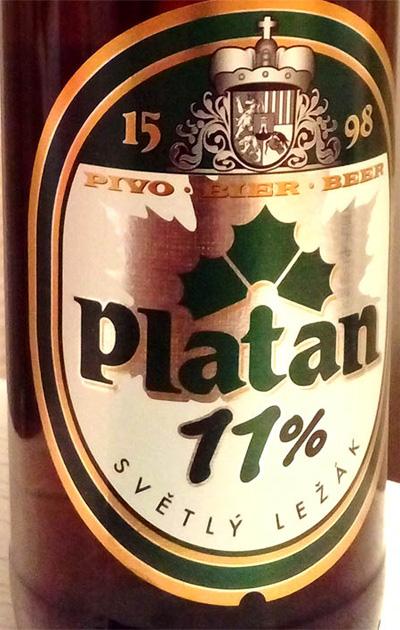 Отзыв о пиве Platan svetle