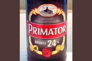 Отзыв о пиве Primator double 24