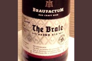 Отзыв о пиве The Brale brown ale kraft