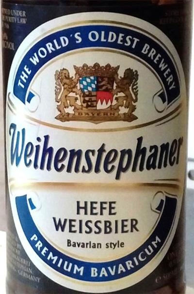 Отзыв о пиве Weihenstephaner hefe weissbier