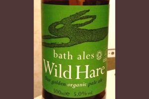 Отзыв о пиве Wild Hare organic pale ale