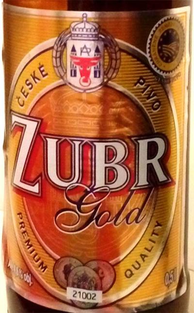 Отзыв о пиве Zubr gold