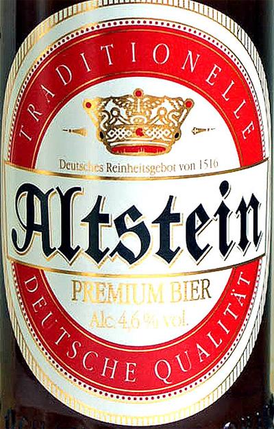 Отзыв о пиве Altstein premium bier
