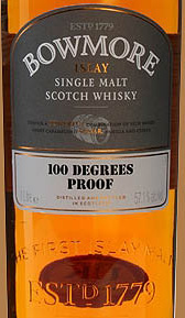 Отзыв о виски Bowmore 100 degrees proof 1 liter