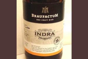 Отзыв о пиве Braufactum Indra