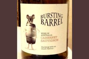 Отзыв о вине Bursting Barrel cabernet sauvignon 2016