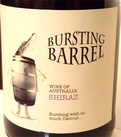 Отзыв о вине Bursting Barrel shiraz 2016