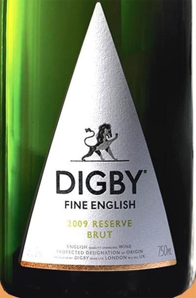 Отзыв об игристом вине Digby fine english brut vintage 2009