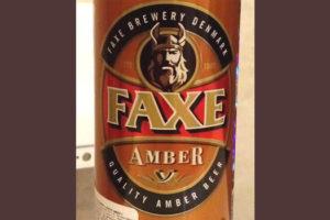 Отзыв о пиве Faxe amber