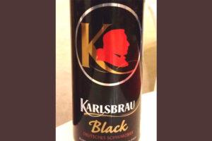 Отзыв о пиве Karlsbrau black