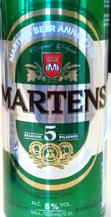 Отзыв о пиве Martens belgium pilsner