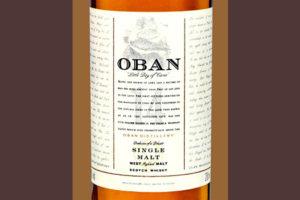 Отзыв о виски Oban 14 y.o. 0,75 liter