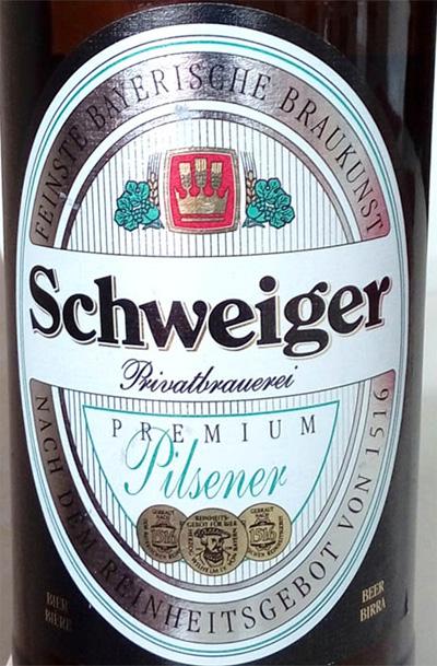 Отзыв о пиве Schweiger premium pilsner