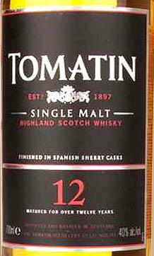 Отзыв о виски Tomatin 12 y.o. 0,7 liter