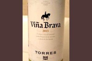 Отзыв о вине Vina Brava tempranillo Torres 2015