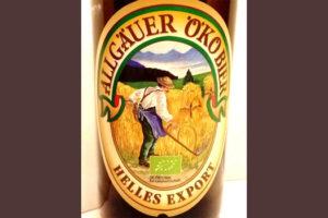 Отзыв о пиве Allgauer oko bier helles export