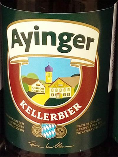 Отзыв о пиве Ayinger Kellerbier