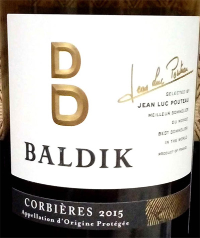 Отзыв о вине Baldik syrah grenache carignan 2015