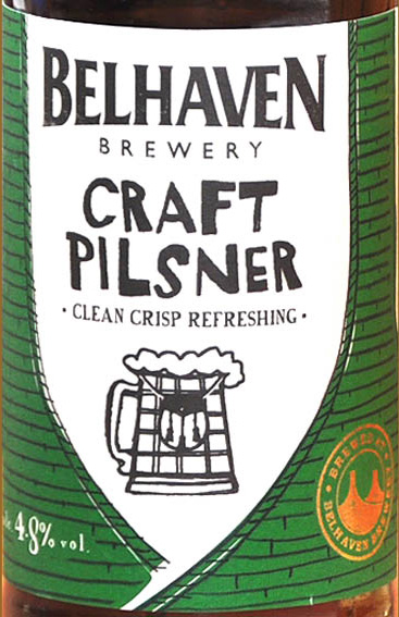 Отзыв о пиве Belhaven craft pilsner
