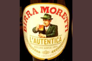 Отзыв о пиве Birra Moretti l'autentica