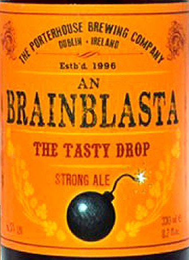 Отзыв о пиве Brainblasta strong ale