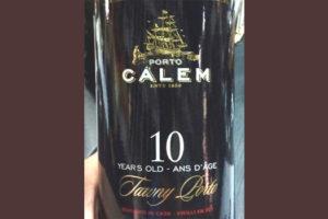 Отзыв о портвейне Calem Tawny porto 10 years old 2016