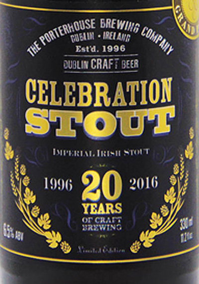Отзыв о пиве Celebration stout Imperial Irish stout