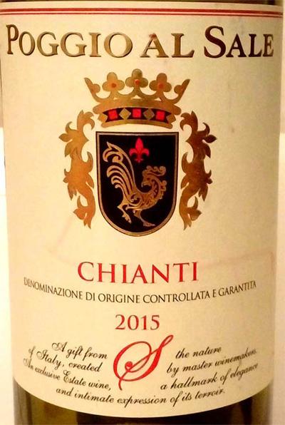 Отзыв о вине Chianti Poggio al Sale 2015