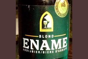 Отзыв о пиве Ename blond