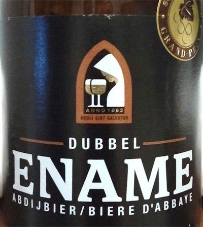 Отзыв о пиве Ename dubbel