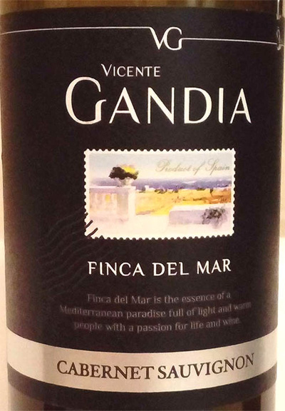 Отзыв о вине Finca del mar cabernet sauvignon 2015