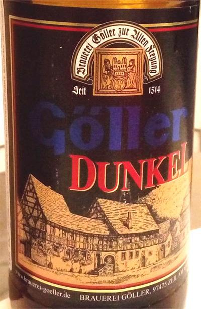 Отзыв о пиве Goller dunkel