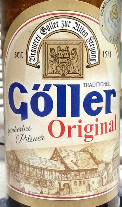 Отзыв о пиве Goller original feinherbes pilsner