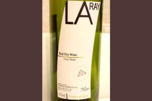 Отзыв о вине La Ray vino tinto 2016