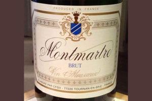 Отзыв об игристом вине Montmartre brut 2016